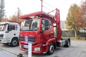 陕汽重卡 德龙新M3000 300马力 4X2 七位轿运 国五 牵引车