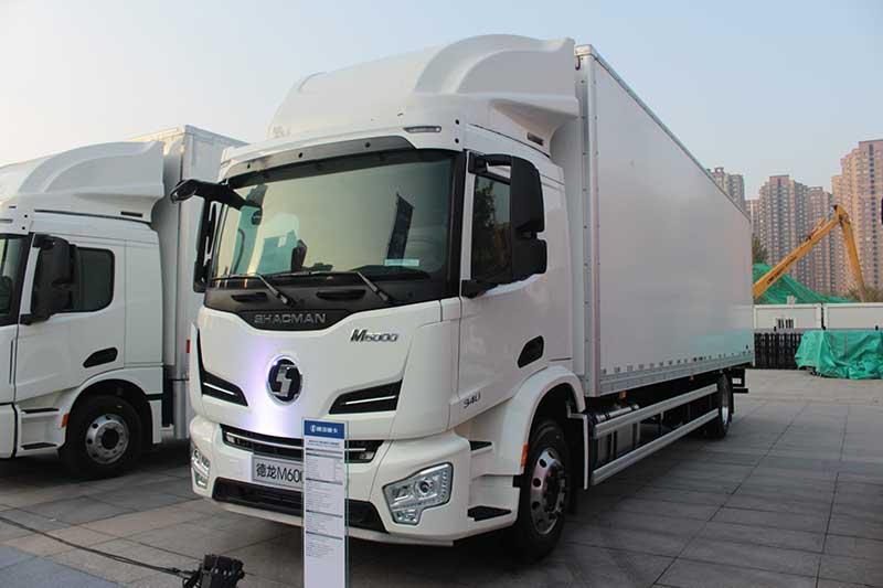 陕汽重卡 德龙M6000 4×2 340马力 国五载货车