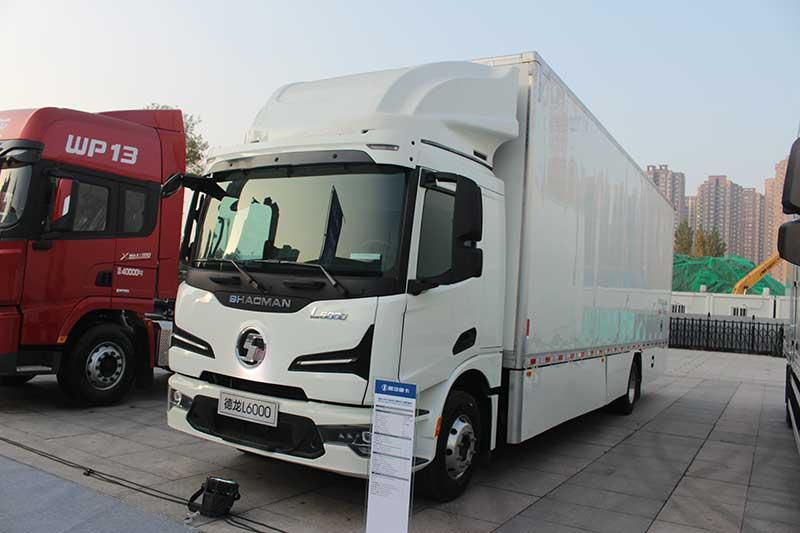 陕汽重卡 德龙L6000 4×2 215马力 国五载货车