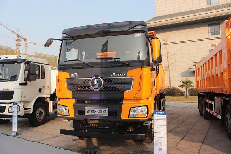 陕汽重卡 德龙X3000 550马力 8X4 国六 自卸车