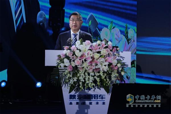 陕汽控股党委书记、董事长袁宏明先生
