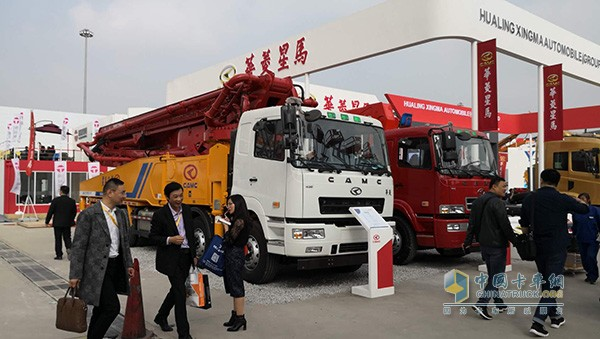 华菱星马56米混凝土泵车