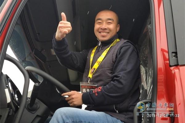 """展现""""中国好司机""""真实风采 天龙哥总决赛十堰""""真实""""开赛"""