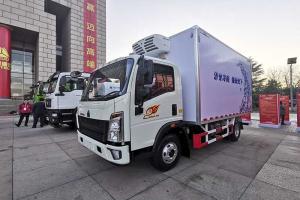 HOWO悍将 4X2 国六170马力冷藏车
