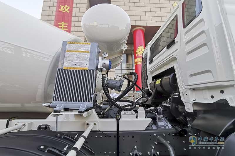 中国重汽 HOWO T5G 440马力 8×4 搅拌车