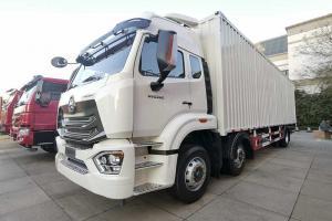 中国重汽 豪瀚 N5G 280马力 6×2 快递运输车