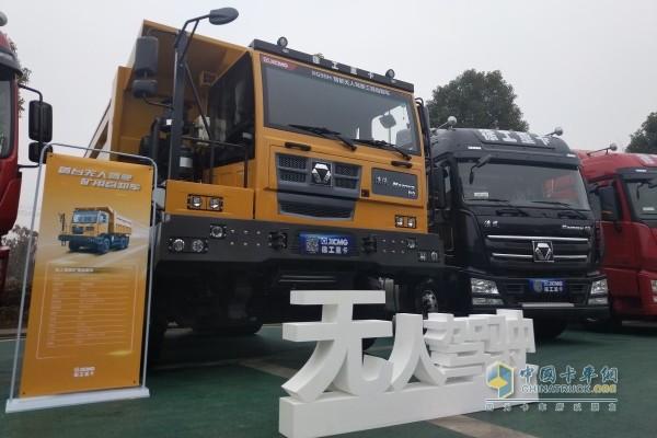 徐工漢沃P9智能无人驾驶工程自卸车