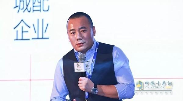 唯捷城配创始人兼CEO 王琦