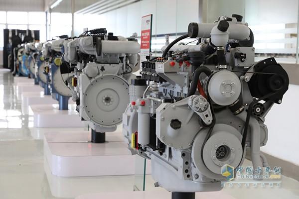 潍柴全系列高端天然气发动机