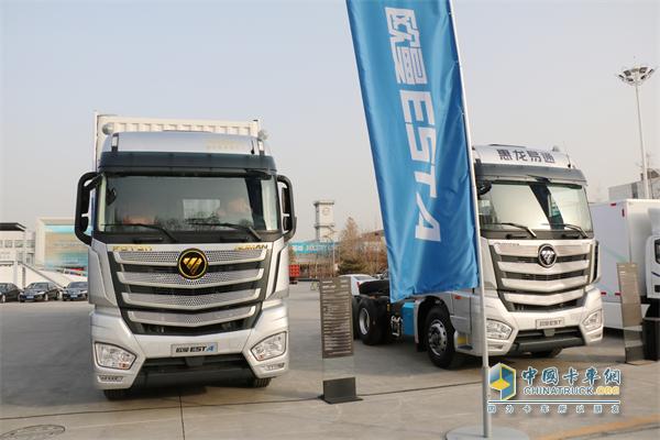 欧曼EST超级卡车&惠龙易通定制专车