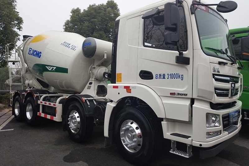 徐工汽车 漢风G5 350马力 8×4 12m³ 搅拌车