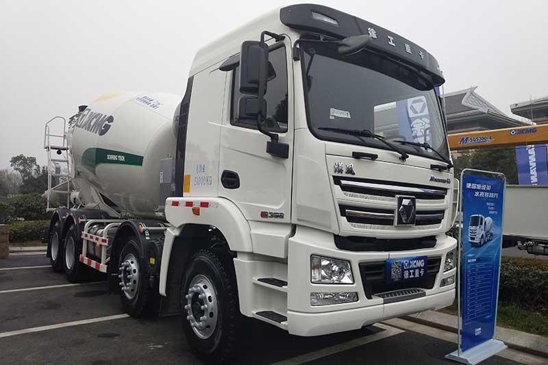 徐工汽车 漢风G7 6×4 350马力 14m³ 搅拌车