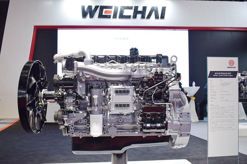 潍柴WP9H 国六发动机