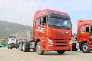 一汽青岛解放 JH6重卡 460马力 6X4 LNG牵引车(国六)(CA4250P26K15T1NE6A80)