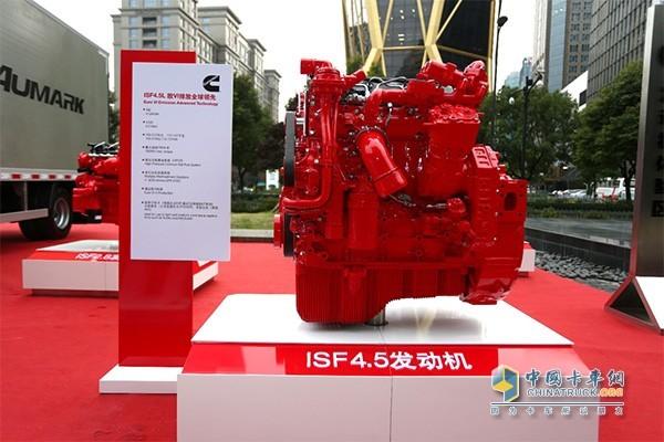 福田福田康明斯ISF4.5发动机