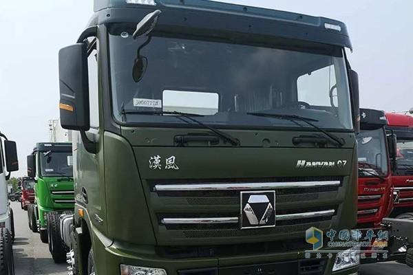 徐工漢風G7 8x4 430马力自卸车