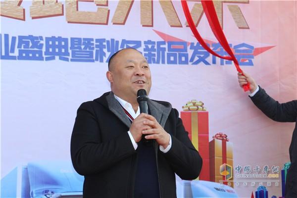 东北亚机械(吉林)进出口贸易有限公司总裁王明