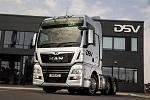 全新里程 I 第1000辆曼恩卡车交付DSV公司