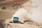 达喀尔第三赛段,依维柯和沙漠的斗争还在继续