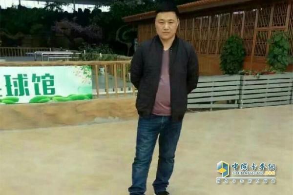 发现信赖走访用户顺鑫渣土公司经理范涛