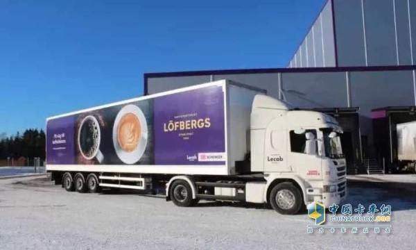 斯堪尼亚混合动力卡车