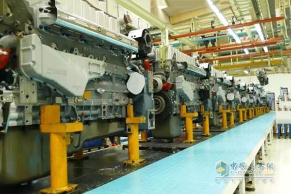 玉柴研发制造的中国最大马力国六燃气发动机K15N