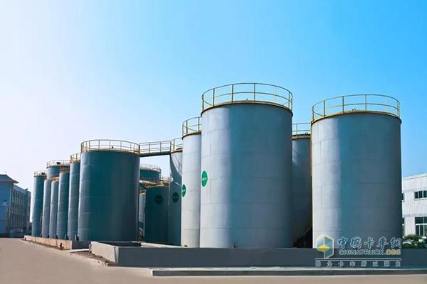 龙蟠润滑油加工工厂