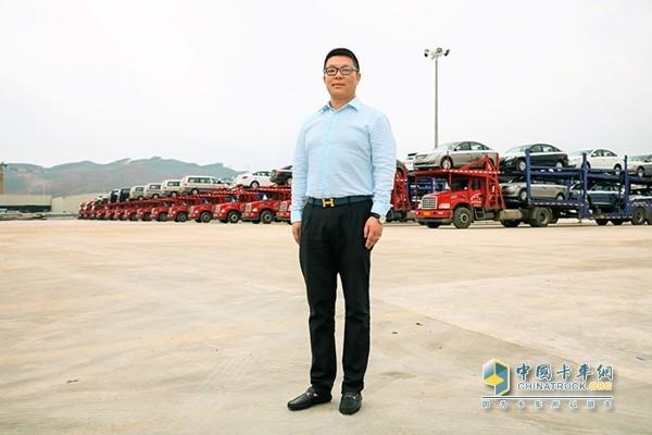 乘龙T5长头的安全性是柳州市菱鑫汽车运输有限责任公司购车的首选因素
