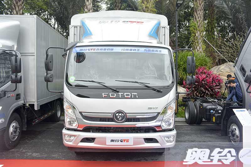 福田 奥铃CTS 154马力 4.17米单排厢式轻卡