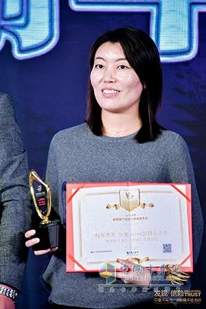 """梅赛德斯-奔驰Actros牵引车荣获""""2019年度值得用户信赖冷链运输车型""""奖项"""