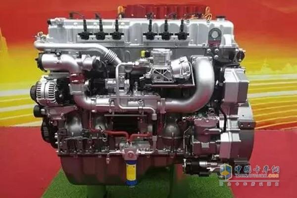 玉柴K15N系列国六天然气发动机