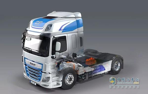 DAF CF Hybrid Truck