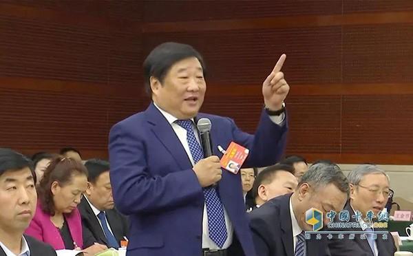 两会问答时刻 谭旭光已确立中国重汽的战略转型