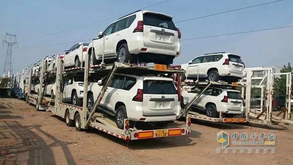 全新一代中置轴轿运挂车