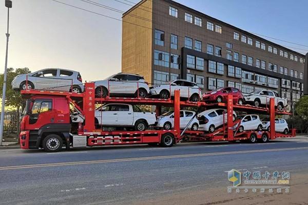 运载的车型覆盖所有乘用车类别
