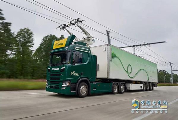 斯堪尼亚电动卡车