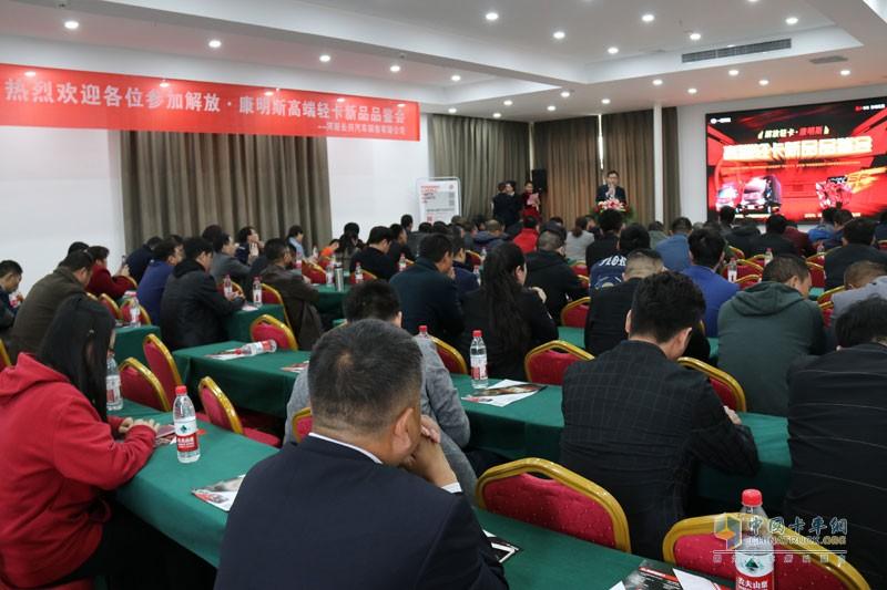 解放轻卡在原有产品优势基础上,结合郑州城配物流走向组织化、高端化的趋势