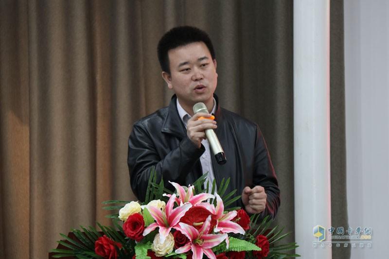 一汽解放青岛整车事业部轻卡部市场部副部长宋高刚先生