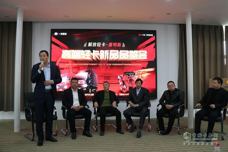 针对当前专线物流的发展,河南省内网络平台的发展、城配运输的发展,冷链物流的用车困境进行了深入探讨
