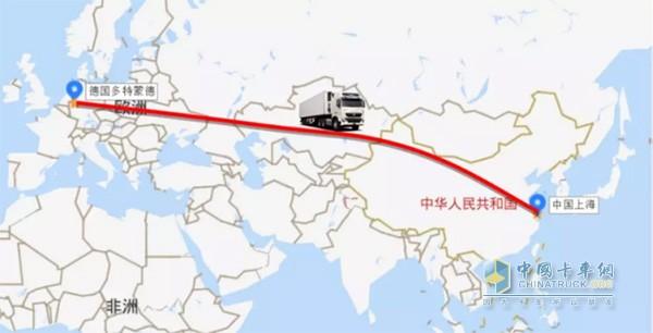 中欧卡车航班启航