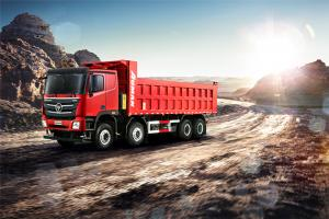 福田戴姆勒 欧曼GTL 8×4 490马力 公路运输自卸车 零利率购车车型