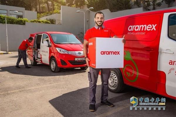 比亚迪T3交付Aramex运营
