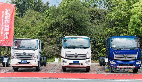 福田时代目前已经完成了多款国六专用车的研发
