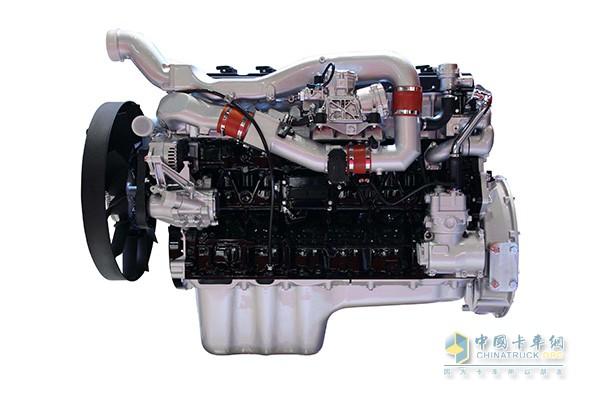 中国重汽携柴油/LNG国六发动机参展