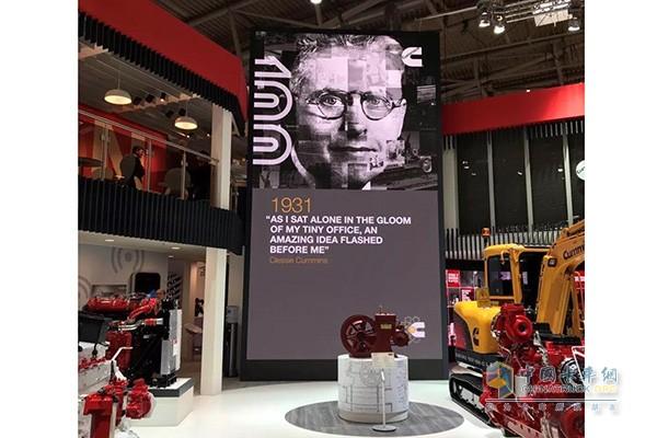 康明斯在德国bauma国际工程机械展