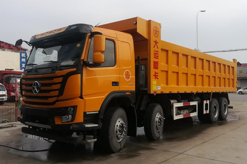 大运 N8V重卡 400马力 8X4 8.6米自卸车(CGC3310D5EDKD)