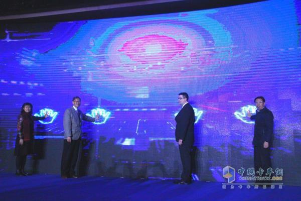 第十五届中国(梁山)专用汽车展览会启动仪式