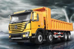 大运重卡 N8V 375QQ自动抢红包 8X4 7.6米自卸车(CGC3310D5EDED)