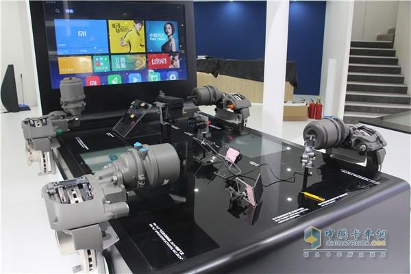 克诺尔制动系统展示