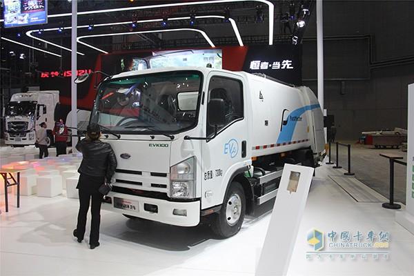EVK100纯电动环卫车